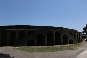 Amphitheatre of Pompeii. I loved walking through this thing. Imagining how fights were taking place here two thousand years ago. So strange and unthinkable these days.