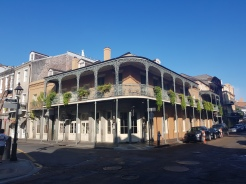 French Quarter is filled with buildings like this one
