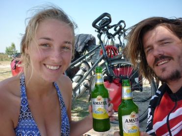 Nothing beats a Radler after hours on a bike in a Greek summer