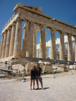 Of course we had to tick some boxes. Akropolis was great.